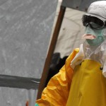 Chief  Justice Donates Ebola Safety Materials